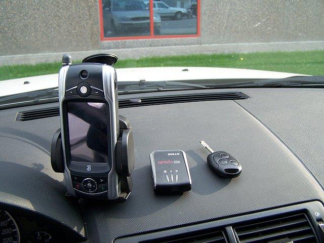 movil+GPS mondeo mk3