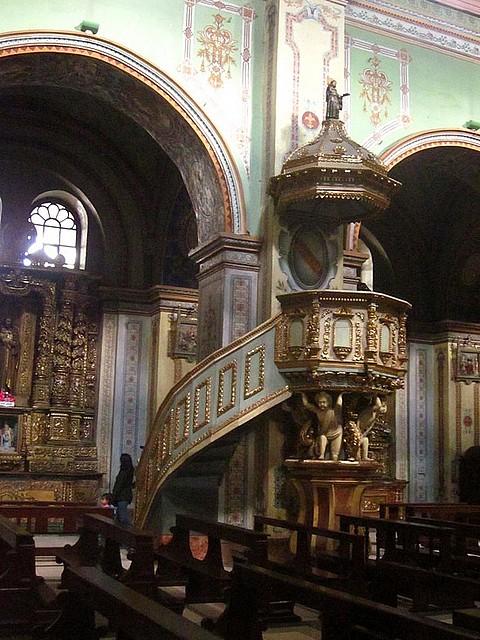San Agust?n, p?lpito