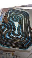 Circuito fijo scalextric 2