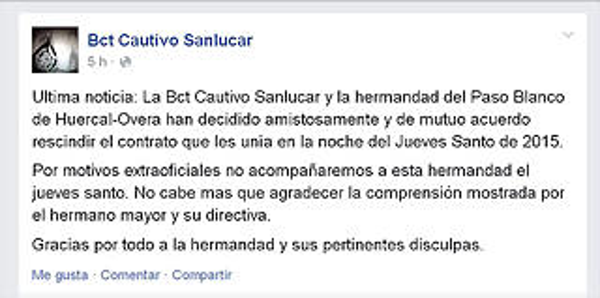 BANDA CAUTIVO SAN LUCAR
