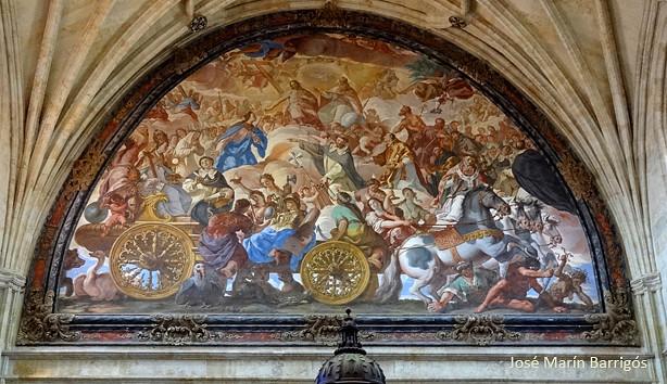 Palomino_El triunfo de la Iglesia