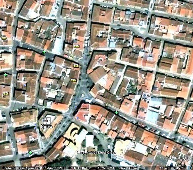 Centro Ayuntamiento y triangulo.