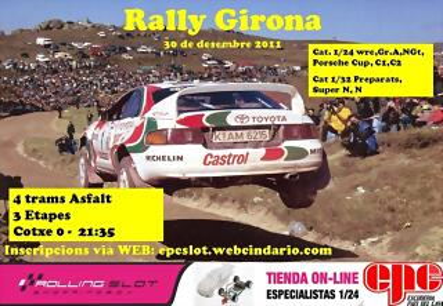 Rally guirona 2011