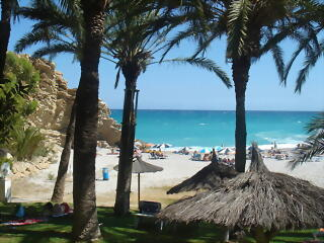 Playa de la Caleta (Minarete), La Vila