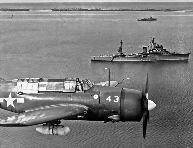 sb2c-helldiver-43-over-the-marshall-islands-on-23-october-1945-kashima