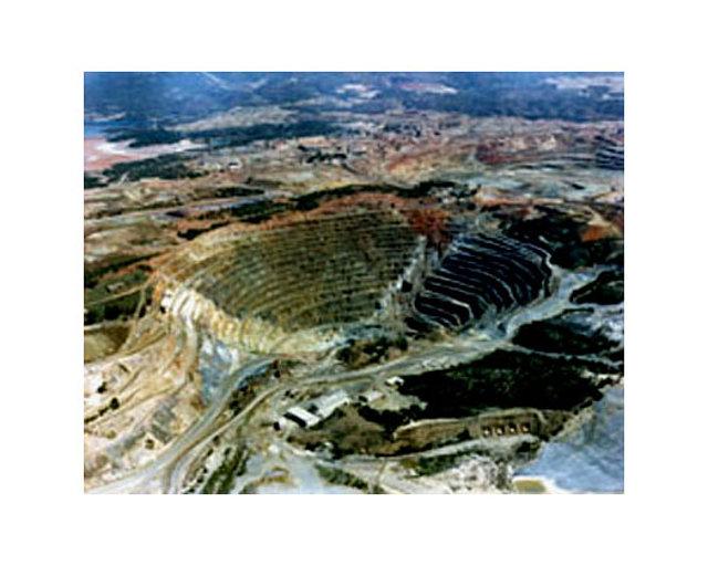 Corta Atalaya minas de Riotinto.