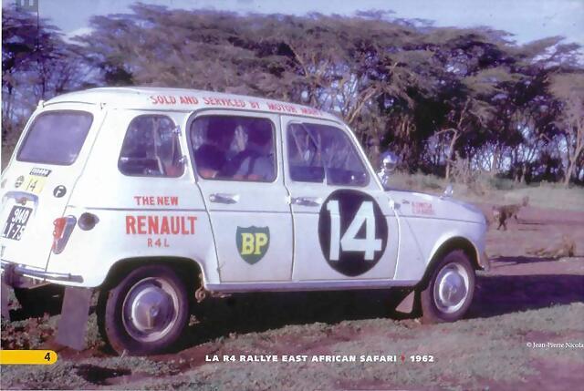 1962 Renault 4 l Nicolas c