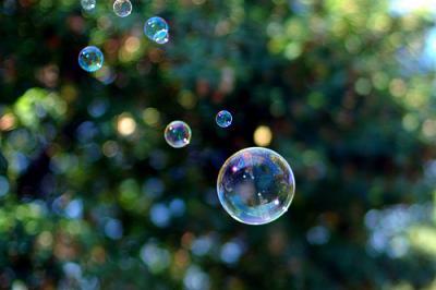 Burbujas (Bubbles, foto Jeff Kubina)