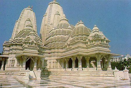 Templos-Birla mandir-blanco