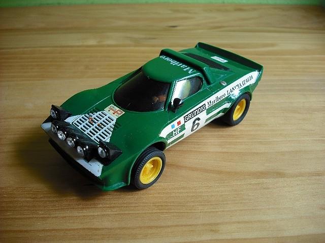 Lancia Stratos verde (1)