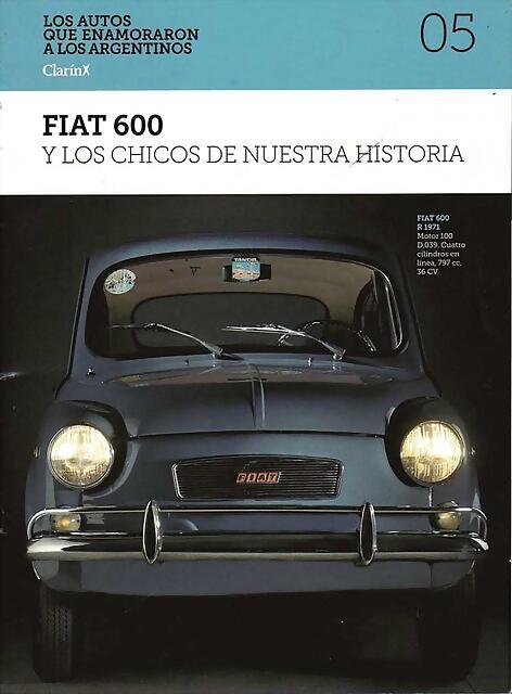 Revista Fiat 600 - Hoja 001