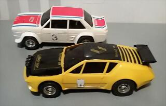 SCX F Fiat 132 & Alpine 310 (4)