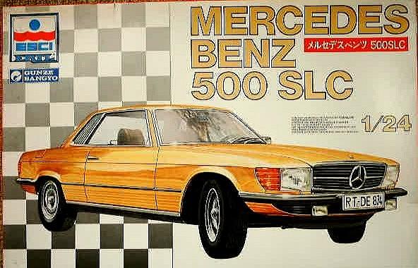 Esci Mercedes 500 SLC