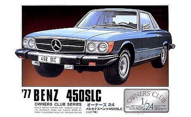 Arii Mercedes 450 SLC
