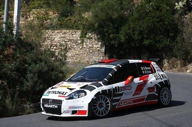 Abarth Punto S2000 2010 IRC San Remo Basso