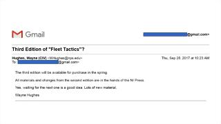Gmail - Third Edition of Fleet Tactics