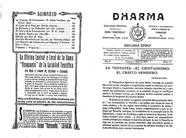 Revista Dharma
