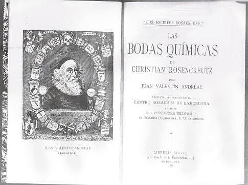 Las Bodas Alquimicas de Christian Rosenkreutz