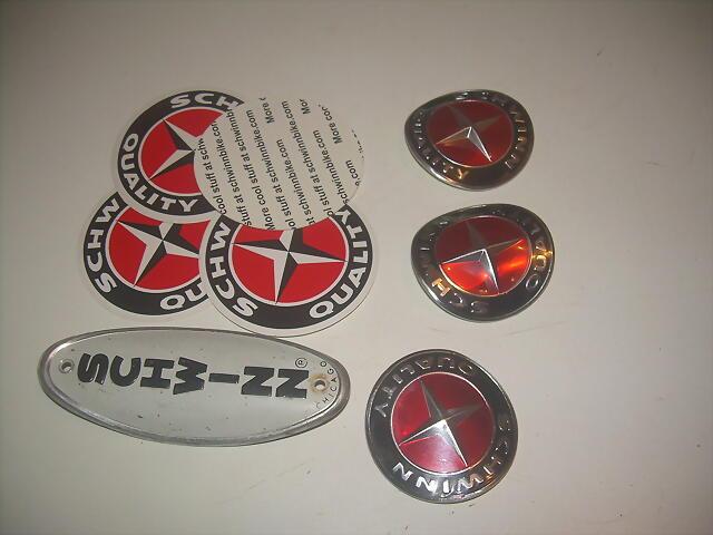 Calcos e insignias SCHWINN