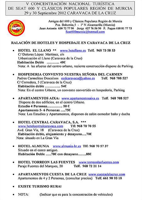 Hoteles Caravaca 2012-jpg