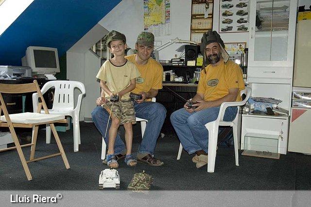 Piter Senior, Piter Junior and me with RC Tigers