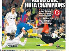 Mundo Deportivo Barcelona 1 - 2 Real Madrid