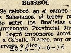 1976.06.07 Liga juvenil