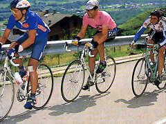 1992 Giro - Chiapucci tirando del grupo