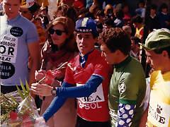 Perico-Vuelta Murcia1985-Recio-Blanco Villar-Pieters
